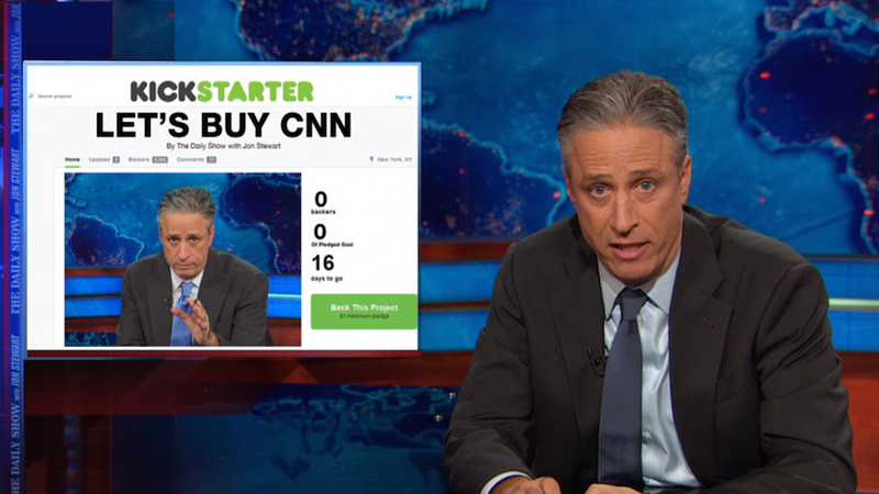 You Can Help Jon Stewart and The Daily Show Buy CNN