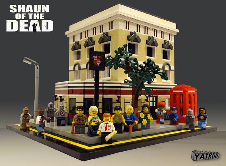 Shaun of the Dead Lego set recreates the Winchester