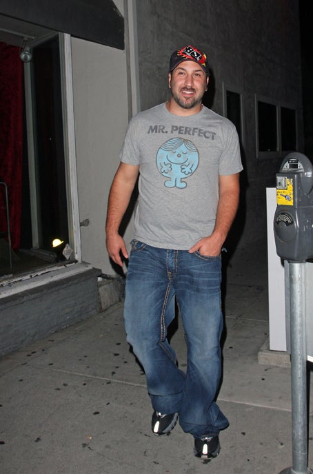 Joey Fatone Is Perfect