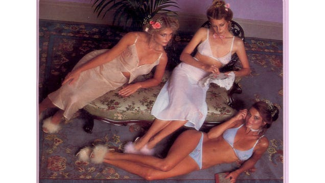 Compare And Contrast: This Hilarious 1979 Victoria's Secret Catalog vs. Victoria's Secret Today