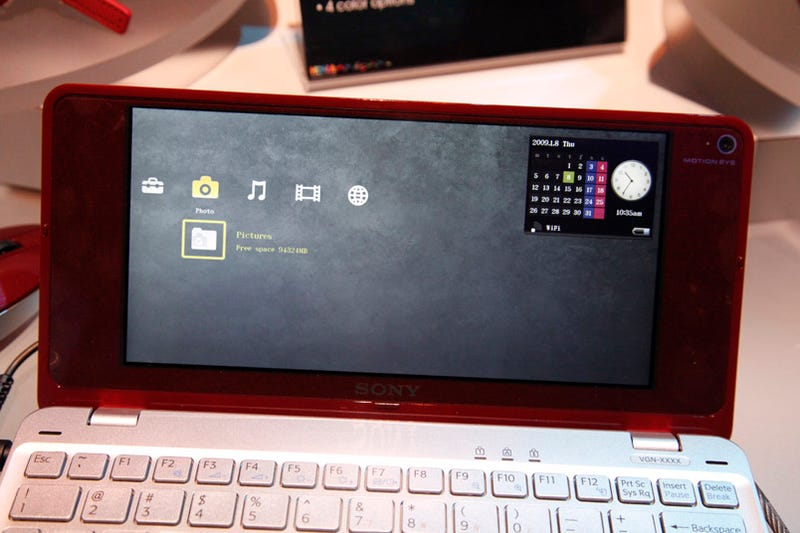 Sony Vaio P Super Don't-Call-It-a-Netbook Hands On