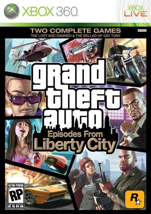 GTA: Episodes From Liberty City Box Looks Like This