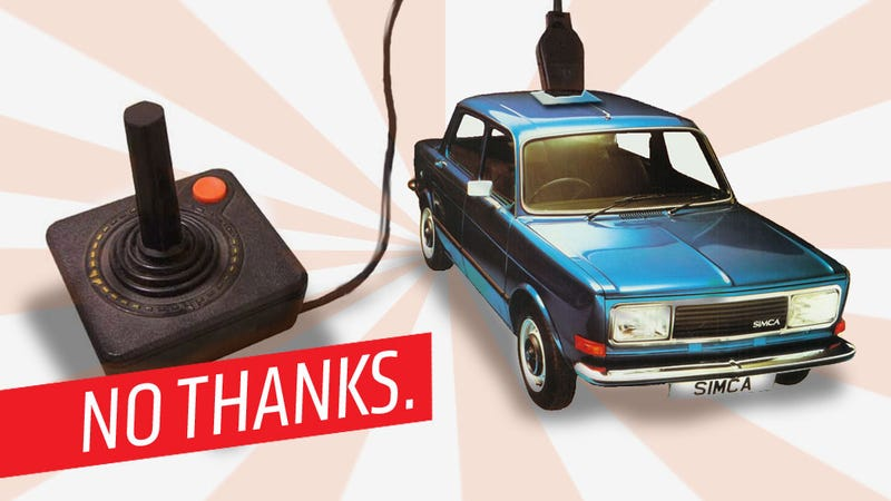 Why The Joystick-Controlled Car Will Never Die Or Actually Happen