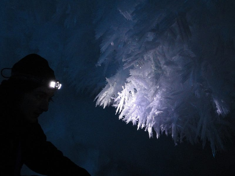 Antarctica's Volcanic Ice Caves Rival Hoth's