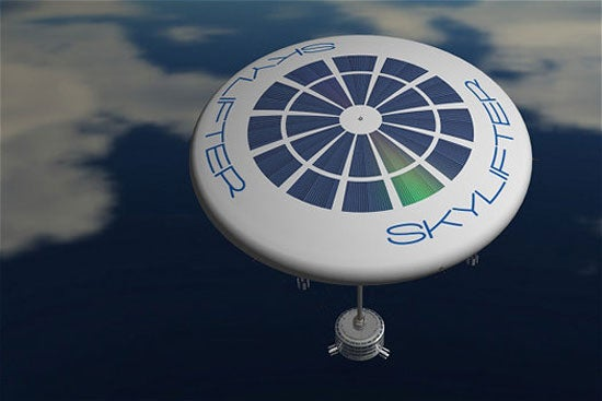 The Future of Cargo Transport Is a Slow UFO