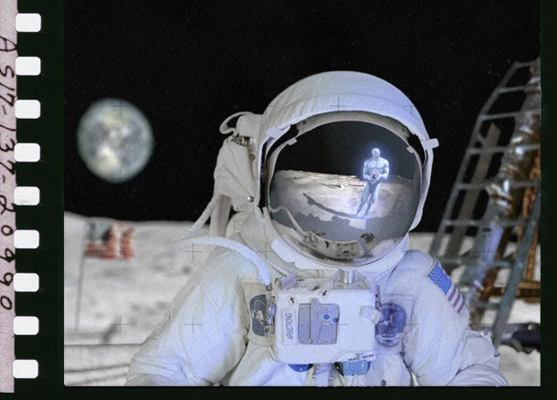 The Moon Landings Were a Hoax!