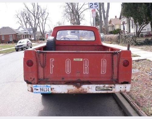 1963 Ford Pickup Down On The Denver Street