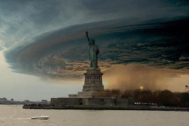 Hurricane Sandy Is Here