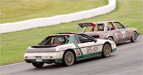Seven Lap Fiero's LeMons Exploits Chronicled In The Gray Lady's Pages