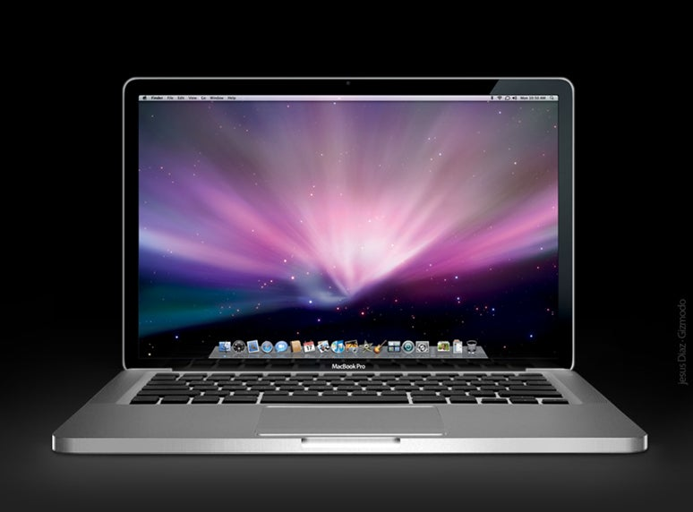 New MacBook Pro 2008 Mock-Up Lights My Credit Card On Fire