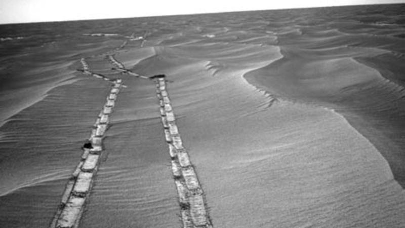 Mars rover Opportunity is about to embark on a new mission, looking for signs of life