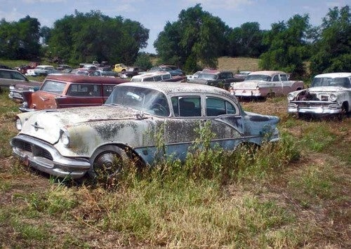 Epic 275-Classic Car Junkyard Collection Headed To Auction