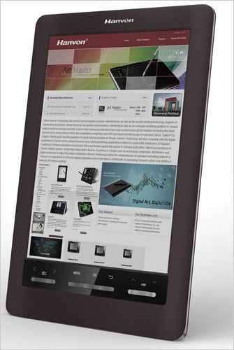 Hanvon's Ereader Uses a Color E-Ink Display, and Will Be the First to Go on Sale