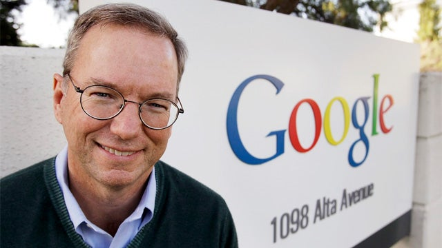 Obama Is Thinking of Naming Eric Schmidt as Commerce Secretary?