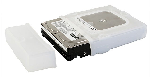 Brando Silicone HDD Case Prevents Bareback Docking
