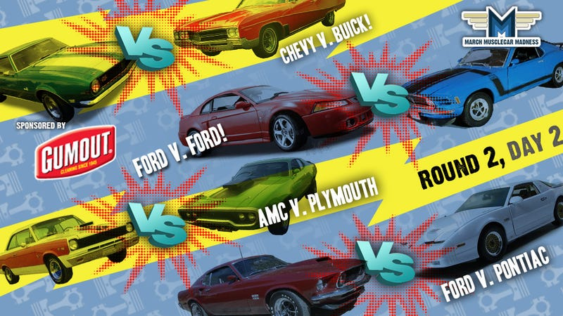 March Muscle Car Madness: Round Two, Day Two
