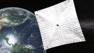 Un rayo cósmico logra reiniciar la nave con velas solares <i>Lightsail</i>