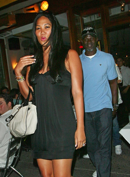 Djimon Hounsou Knows Kimora Lee Simmons Will Always Take The Lead