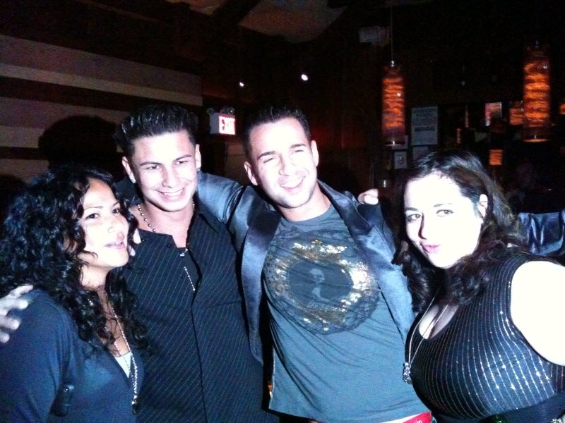 The Cast of Jersey Shore at Marquee