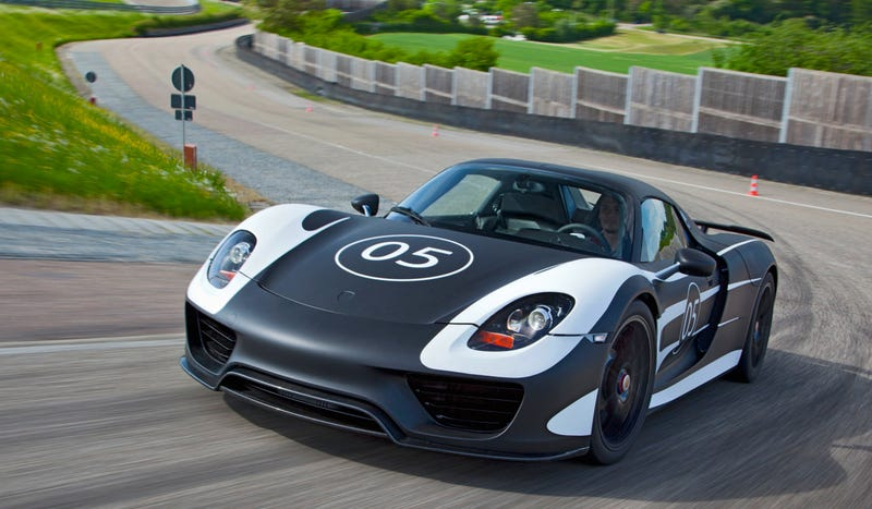 What It's Like To Race In Porsche's $845,000 Hybrid Hypercar