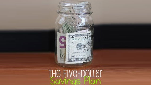 Save Every $5 Bill for a Painless, Fun Way to Build Your Savings Account