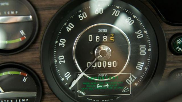 This is what a Volvo 1800ES with 90 original miles looks like