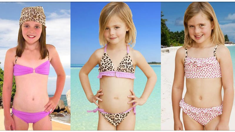 How Young Is Too Young for Leopard Print Bikinis?