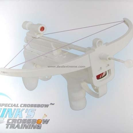Wii Crossbow Has Laser Sight, Tip Covered by Ping Pong Ball