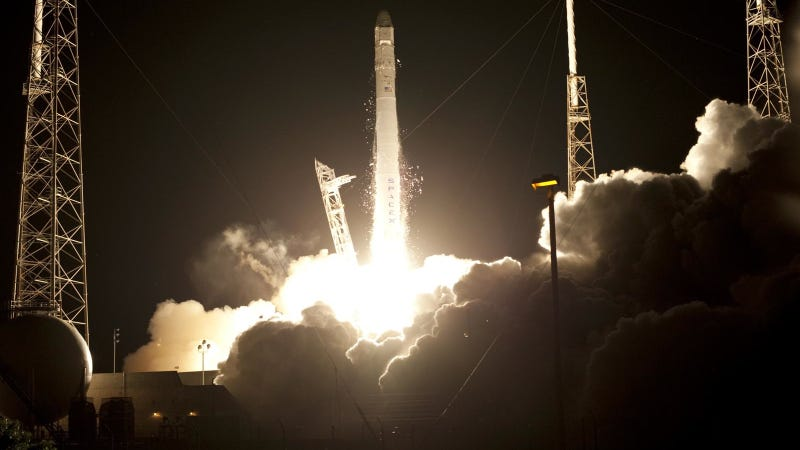 Elon Musk's SpaceX Just Launched A Capsule Into Orbit, But There's A Thruster Problem (Updated)