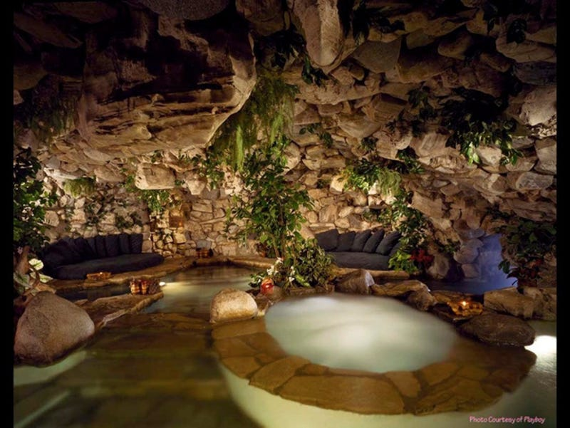 From the Playboy Mansion to YOLO Estate: The Lure of Backyard Grottos