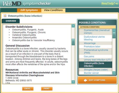 Symptom: Constant Cramping