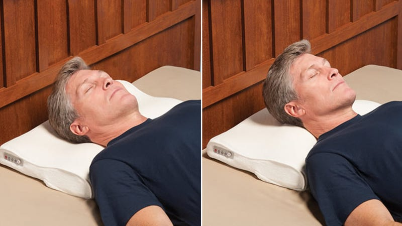 This Pillow Promises to End Your Partner's Stupid Snoring