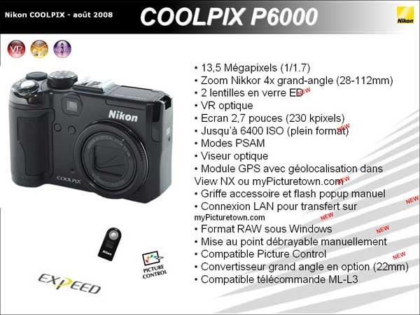 Nikon Coolpix P6000 Gets Leaked, Rumored to Deliver an Absurd 13.5 Megapixels