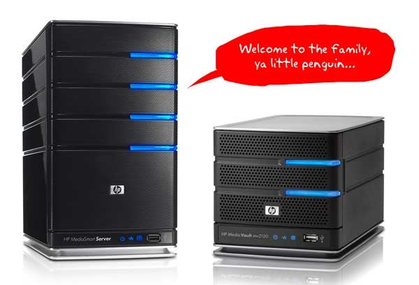 HP Updates MediaSmart Server, Adds Linux-Powered mv2120 Media Vault