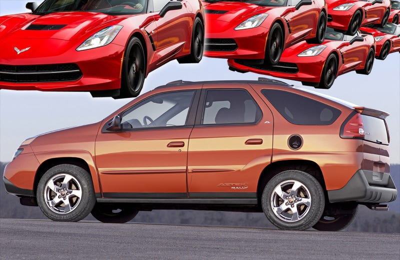 The Guy In Charge Of The C7 Corvette's Design Made The Pontiac Aztek