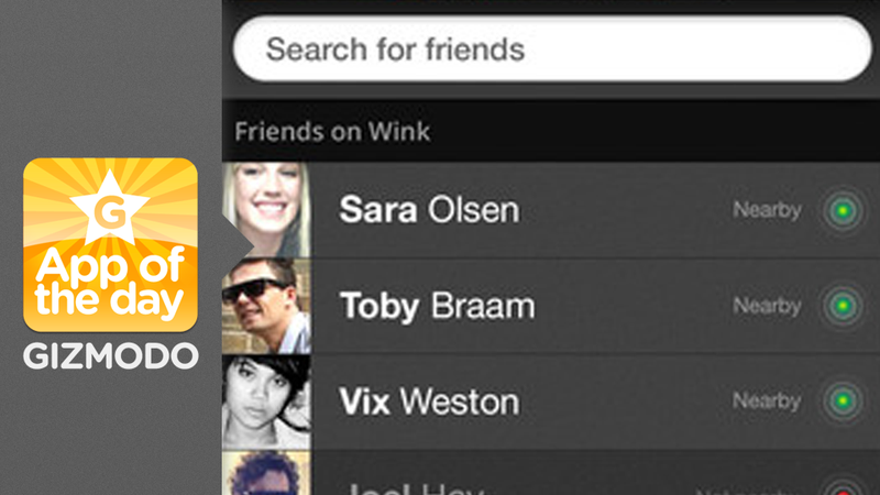Wink: Instantly Share Your Photos With Friends So They Stop Bugging You