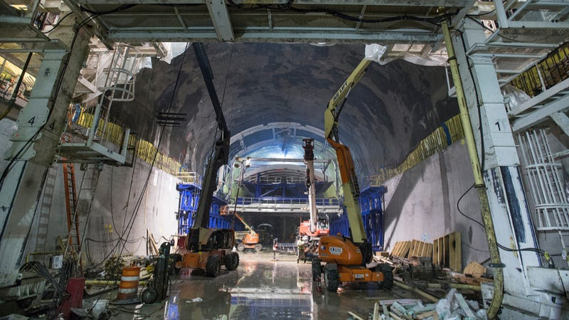 These Gorgeous Photos Show How New York City Builds A Subway Station