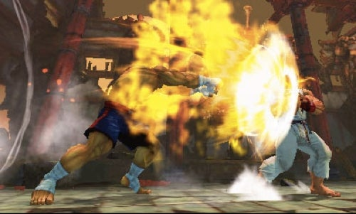 Super Street Fighter IV On The Nintendo 3DS Looks Nice