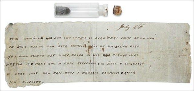Encoded Civil War Message Arrives 147 Years Too Late