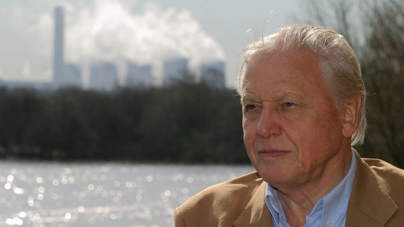 Sir David Attenborough says the future is going to totally suck