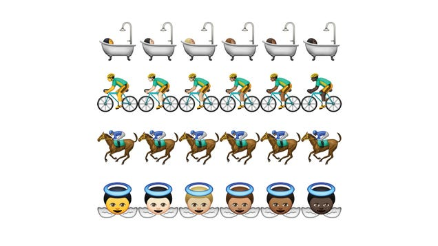 Here Are Apple's Diverse (And Racist? Jaundiced?) Emoji
