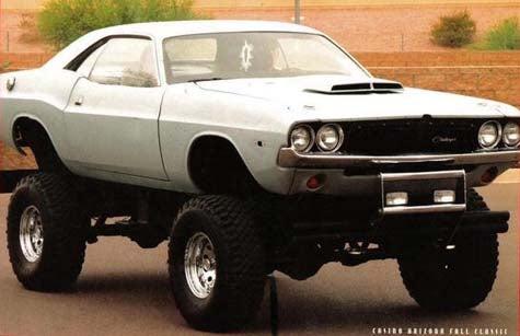 Yeehaw! Rock-Climbin' '74 Challenger
