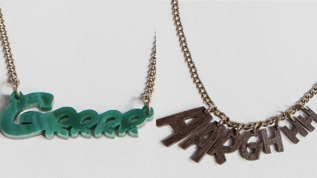 Adorable monster necklaces have a hidden Joss Whedon joke in them