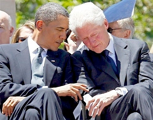 Fun Party Guy Bill Clinton More Popular Than Barack Obama