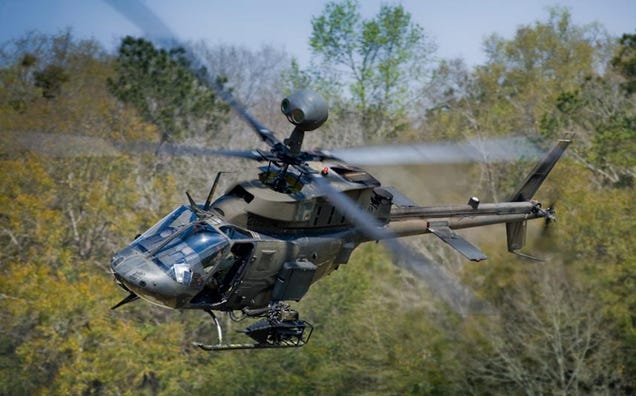 This Trusty US Chopper Is Heading Home After a Decade of War