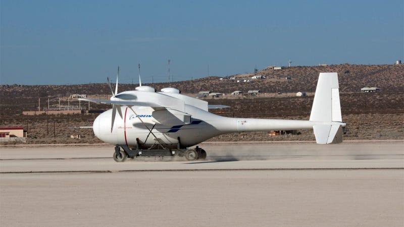 Boeing's Phantom Surveillance Drone Flies Over Battlefields for Four Days Straight