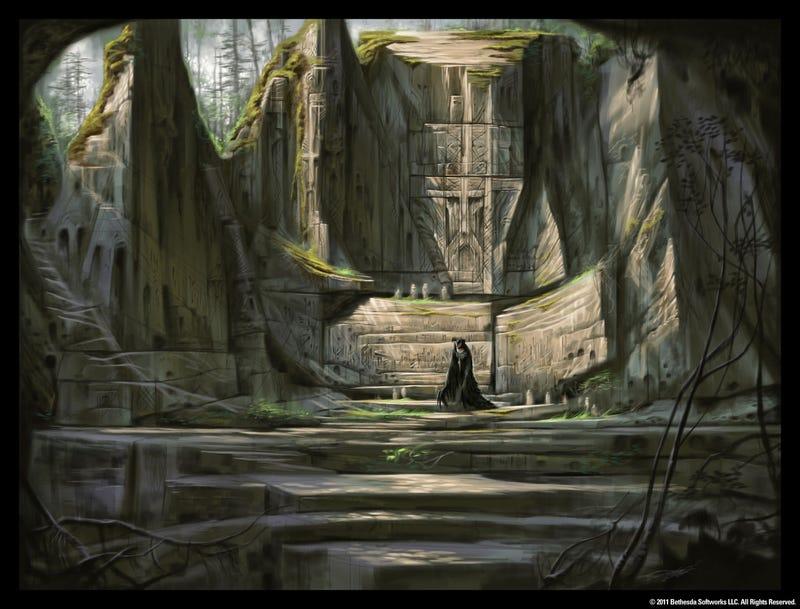 The Early Art Of The Elder Scrolls V: Skyrim