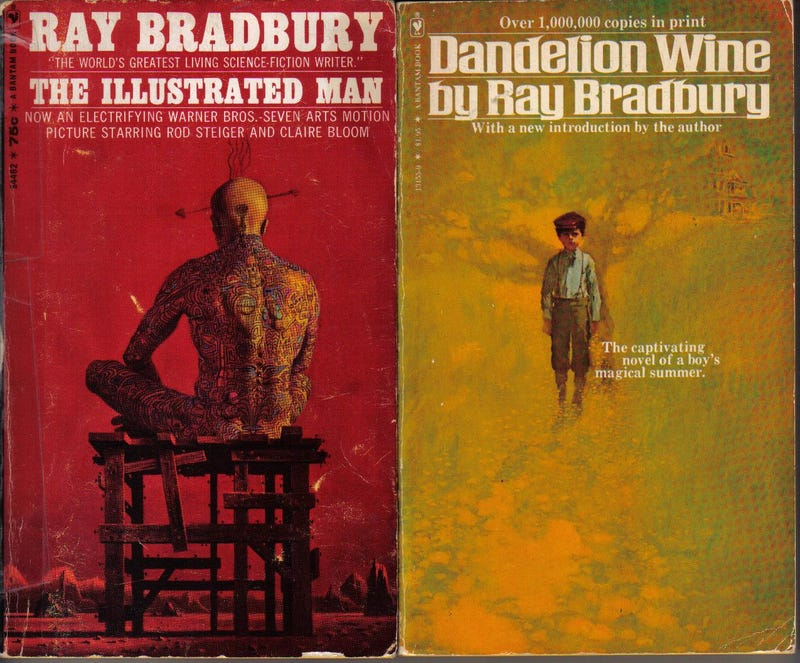 Now at last, Ray Bradbury's novels are out as e-books