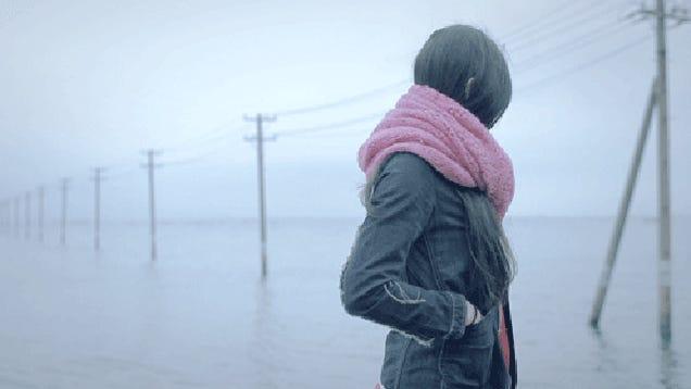 La misteriosa japonesa giratoria, o el GIF convertido en arte