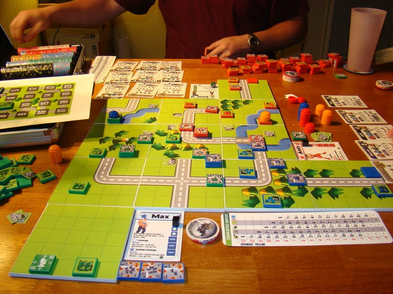 Advance Wars: The Board Game!